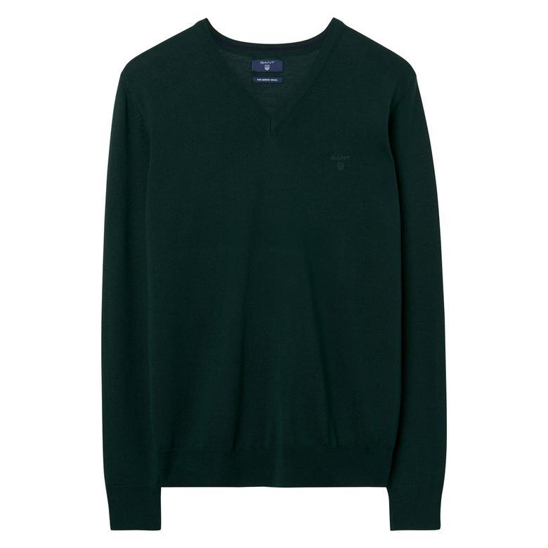Gant Yeşil Erkek Triko