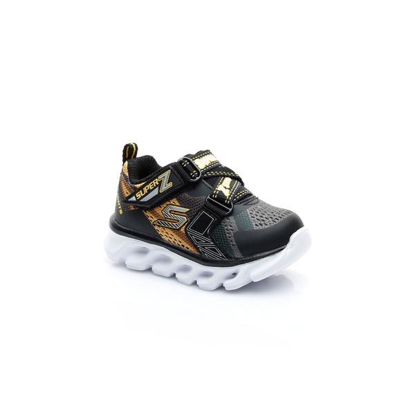 Skechers Hypno-Flash Işıklı Bebek Siyah Spor Ayakkabı
