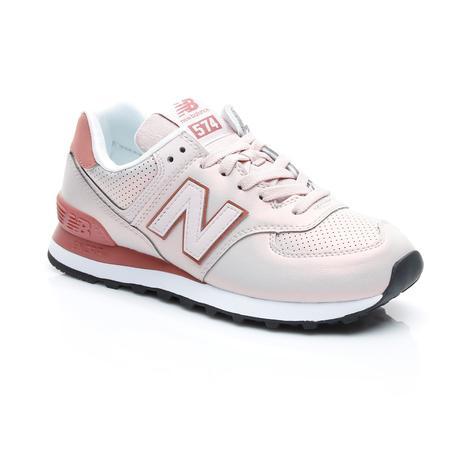 New Balance 574 Iridescent Kadın Pembe Sneaker