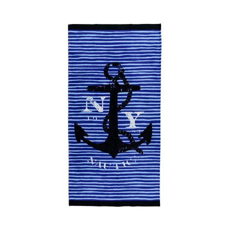 Nautica Çocuk Mavi Havlu