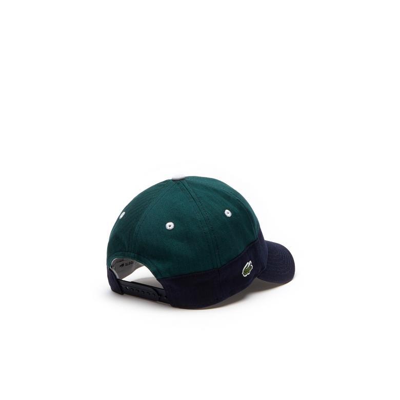 Lacoste Çocuk Lacivert-Yeşil Şapka
