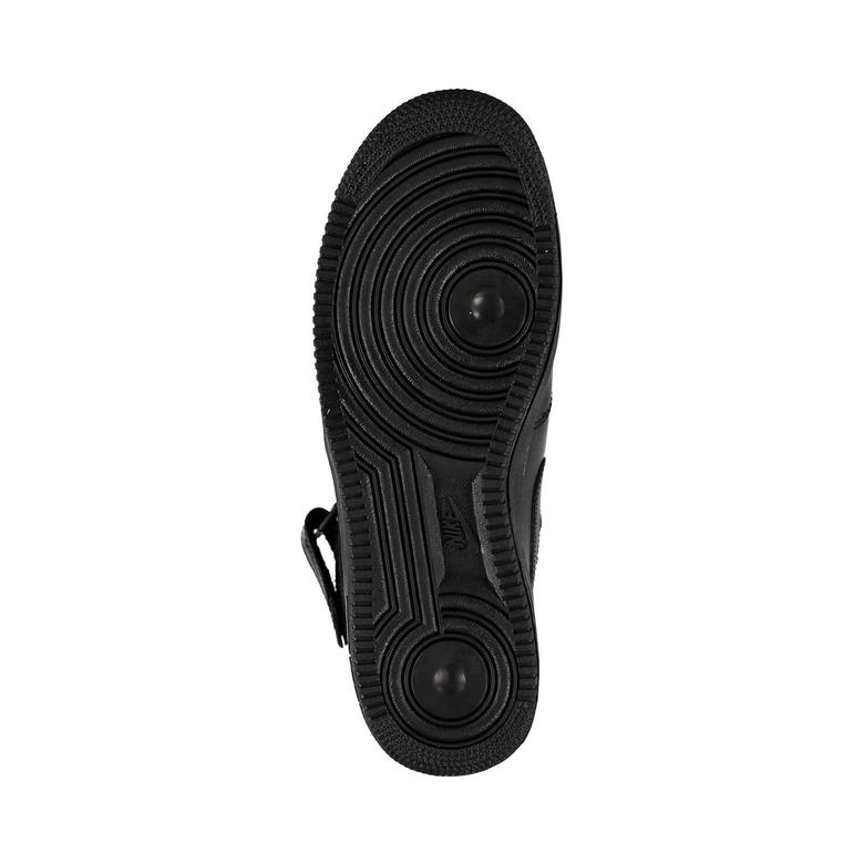 Nike Air Force 1 Mid '07 Erkek Siyah Spor Ayakkabı