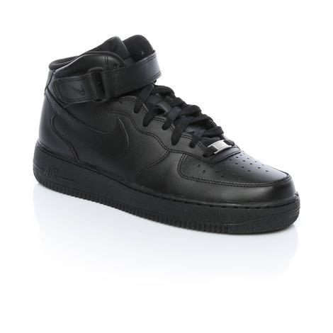 Nike Air Force 1 Mid '07 Erkek Siyah Sneaker