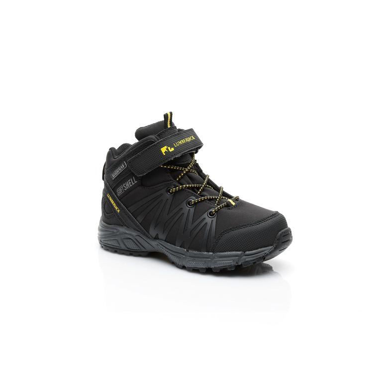 Lumberjack 7W Shell Çocuk Siyah Sneaker