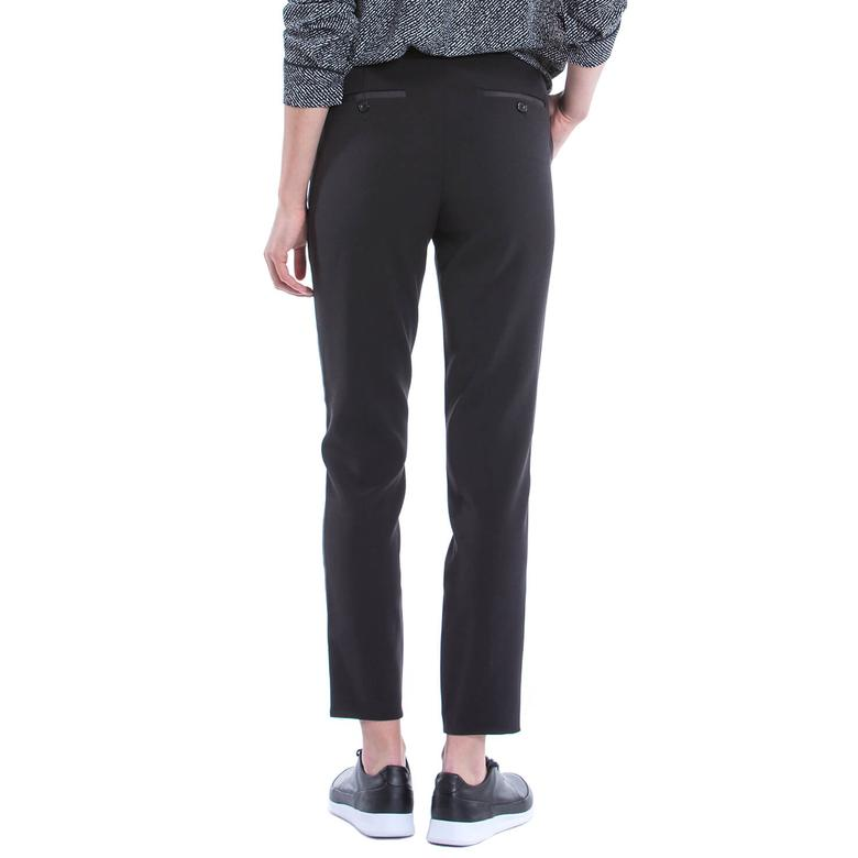 Nautica Kadın Siyah Klasik Fit Pantolon