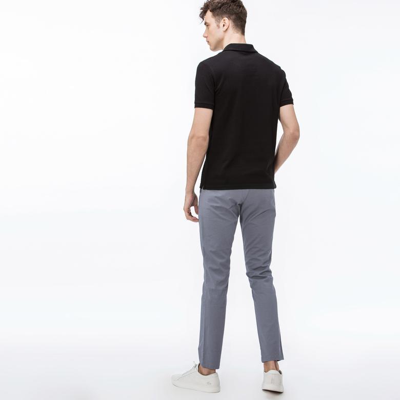Lacoste Erkek Slim Fit Gri Chino Pantolon
