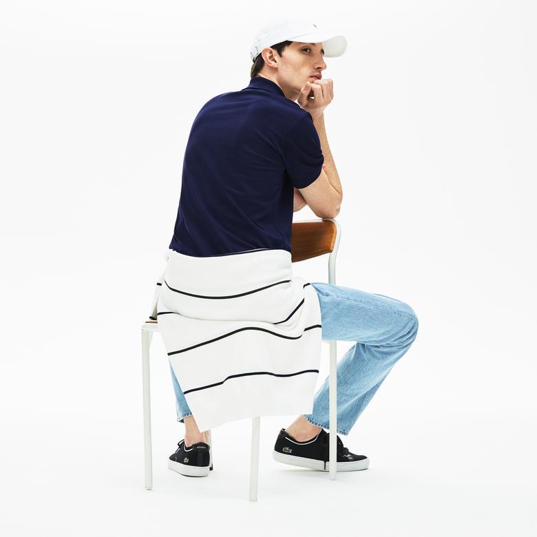 Lacoste Erkek Klasik Fit Lacivert Polo