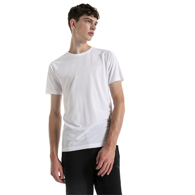 Puma Evostripe Move  Erkek Beyaz T-Shirt