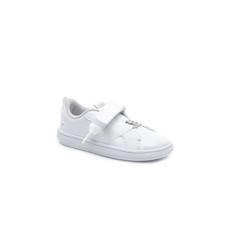 Puma Smash V2 Bkl Patent Çocuk Beyaz Spor Ayakkabı