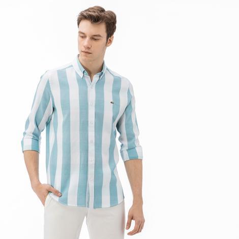 Lacoste Erkek Slim Fit Ekose Gömlek