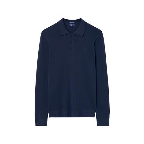 Gant Erkek Lacivert American Cotton Polo Triko