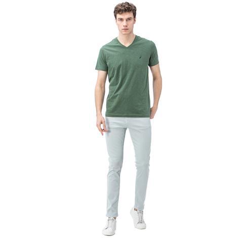 Nautica Erkek Açık Mavi Slim Fit Pantolon