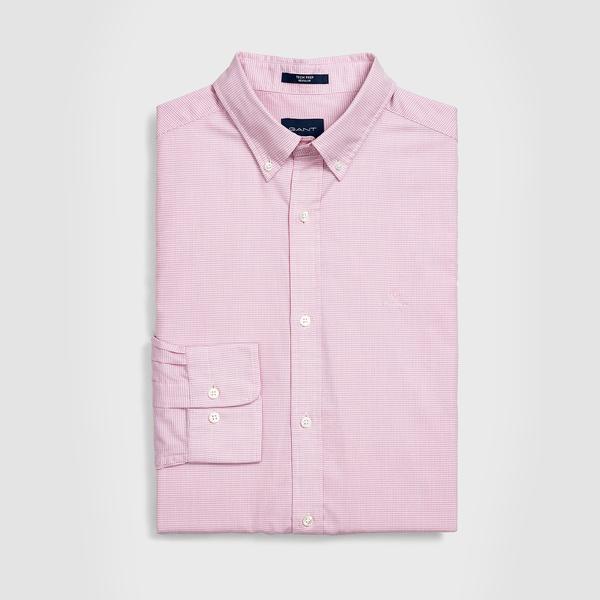 Gant Erkek Pembe Regular Fit Tech Prep Royal Oxford Gömlek