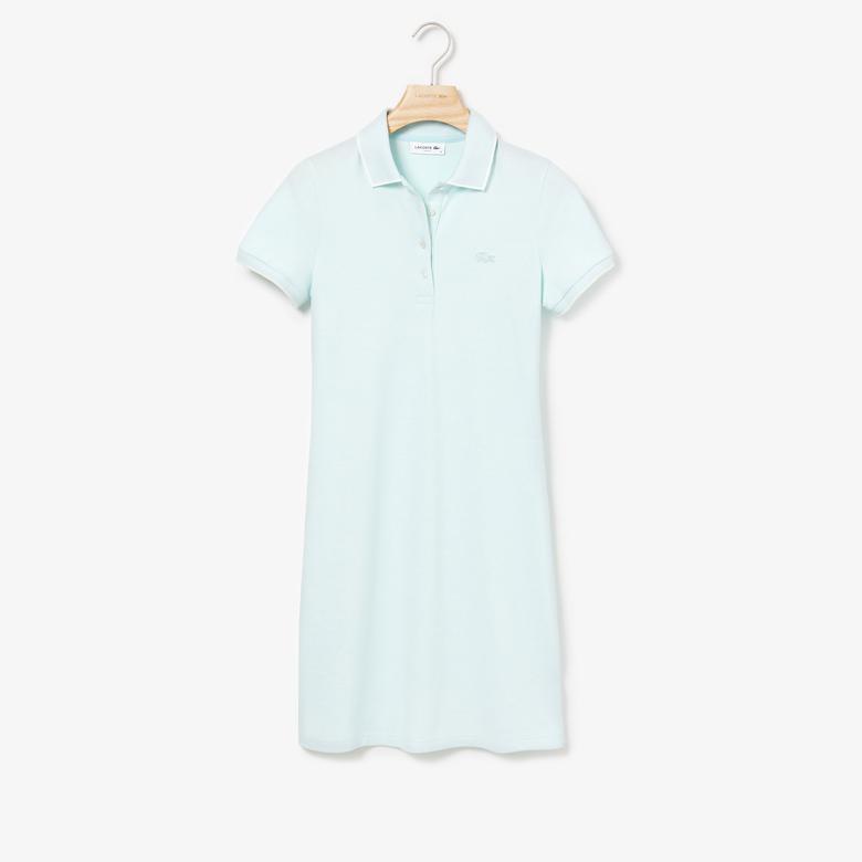 Lacoste Kadın Açık Mavi Elbise
