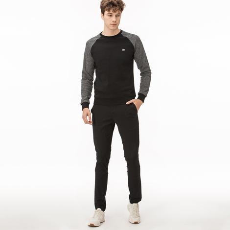 Lacoste Erkek Slim Fit Siyah Chino Pantolon