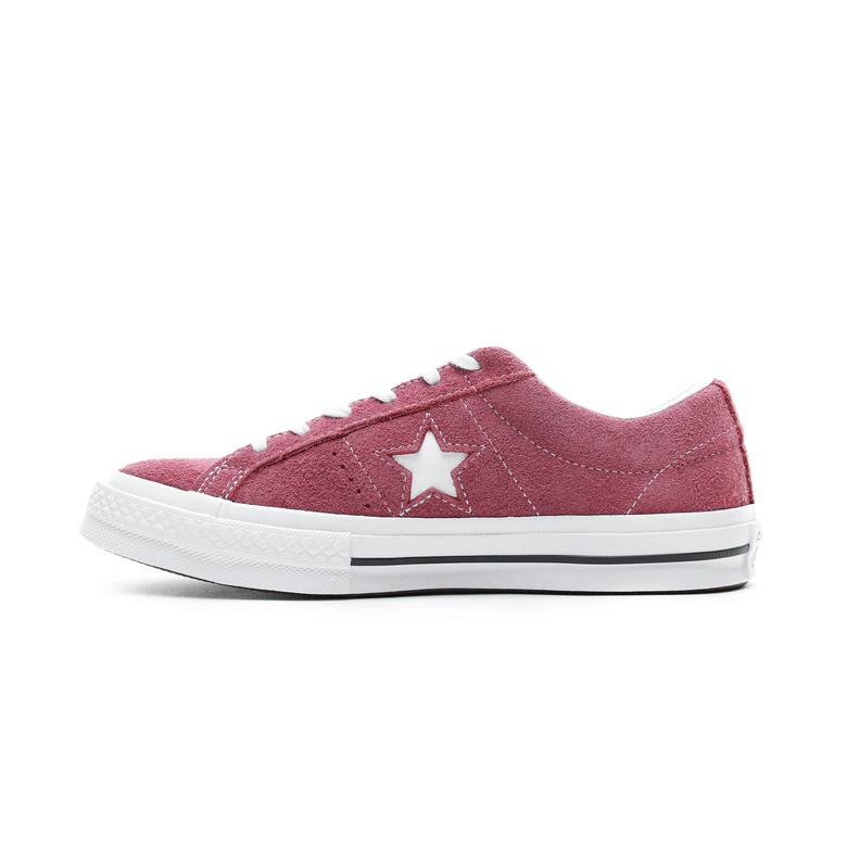 Converse One Star OX Kadın Bordo Sneaker