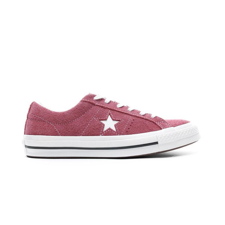 Converse One Star OX Kadın Bordo Sneaker