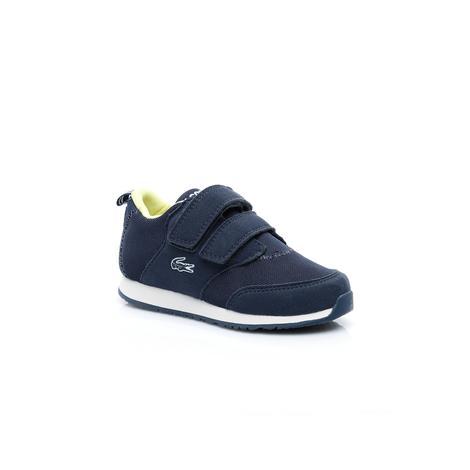 Lacoste Light 119 1 Çocuk Lacivert - Beyaz Spor Ayakkabı
