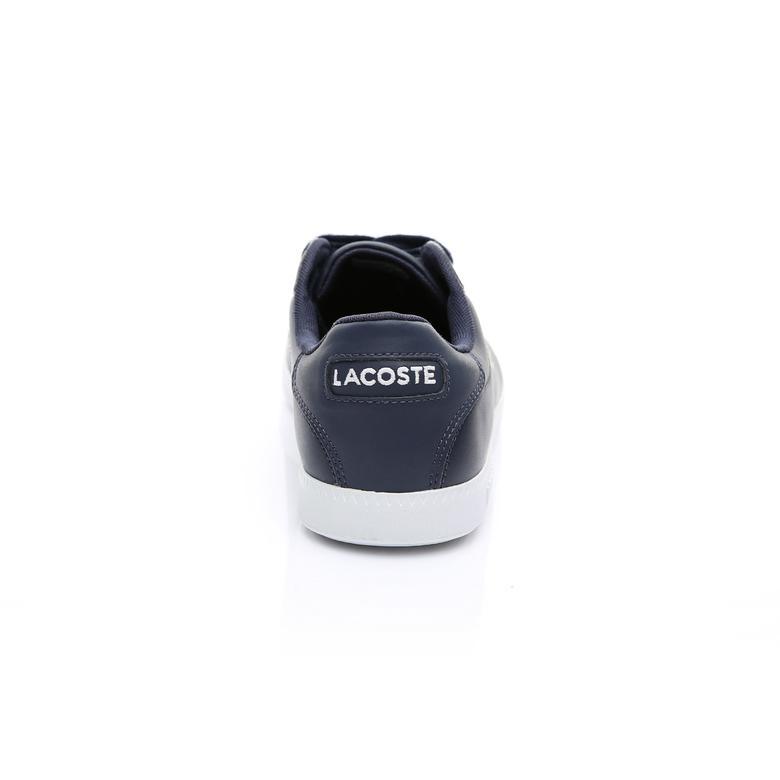 Lacoste Graduate BL 1 Erkek Deri Lacivert Logo Detaylı Sneaker