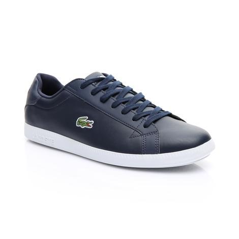 Lacoste Erkek Lacivert - Beyaz Graduate BL 1 Spor Ayakkabı