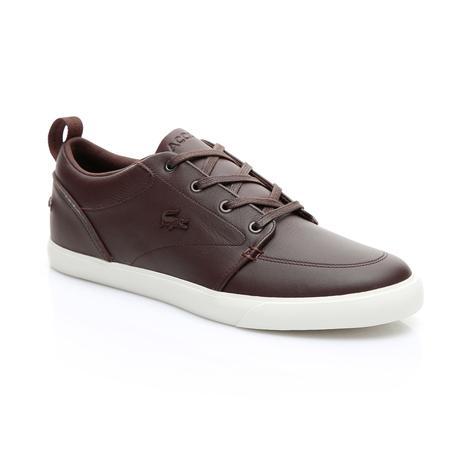 Lacoste Erkek Koyu Kahverengi - Bej Bayliss 119 2 Casual Ayakkabı