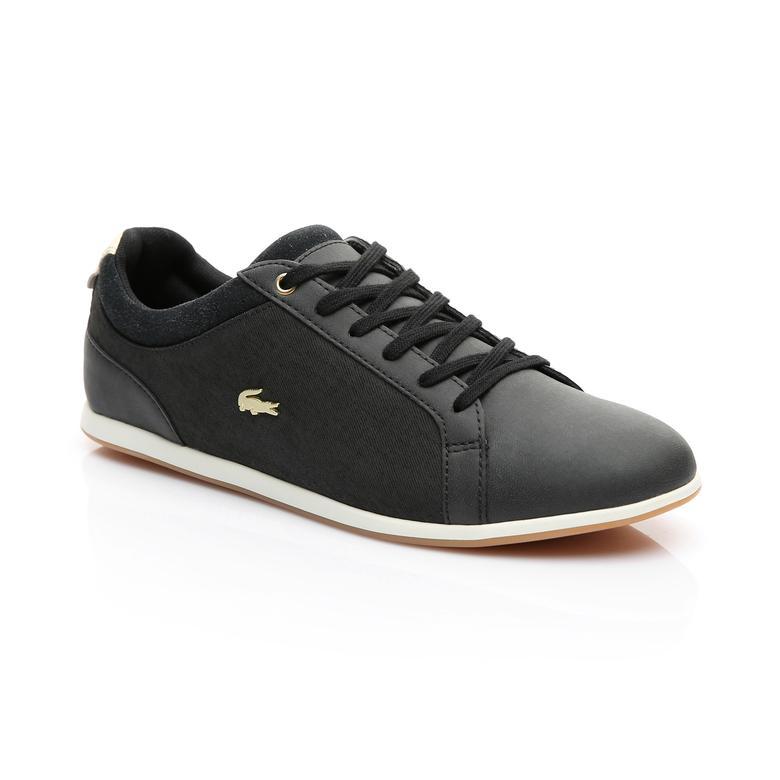 Lacoste Kadın Siyah - Altın Rey Lace 119 1 Casual Ayakkabı