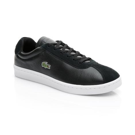 Lacoste Erkek Siyah - Beyaz Masters 119 2 Spor Ayakkabı