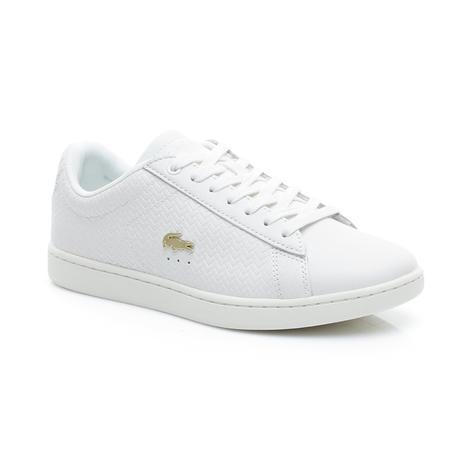 Lacoste Carnaby Evo 119 3 Kadın Beyaz Spor Ayakkabı