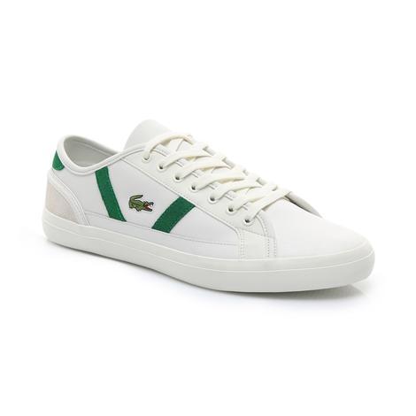 Lacoste Erkek Bej - Yeşil Sideline 119 3 Casual Ayakkabı