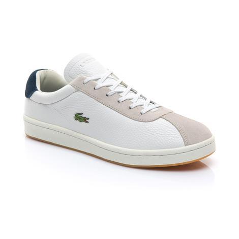 Lacoste Erkek Bej - Lacivert Masters 119 3 Spor Ayakkabı