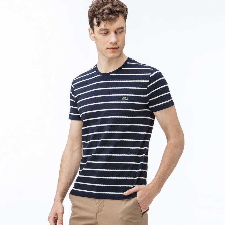 Lacoste Erkek Slim Fit Lacivert T-Shirt