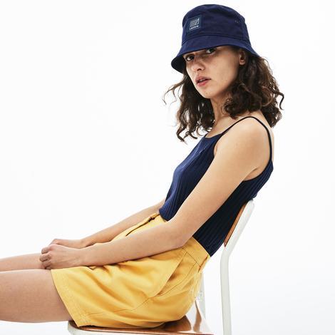 Lacoste Kadın Askılı Lacivert T-Shirt