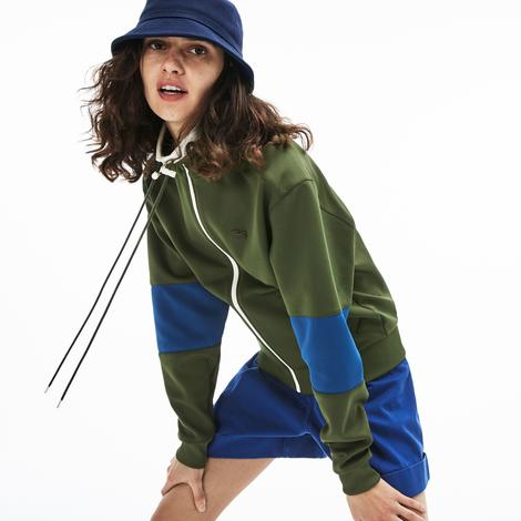 Lacoste Motion Kadın Yeşil Sweatshirt