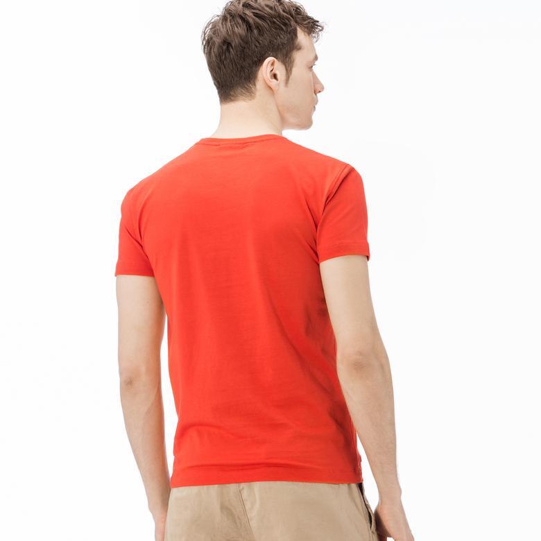 Lacoste Erkek Turuncu T-Shirt