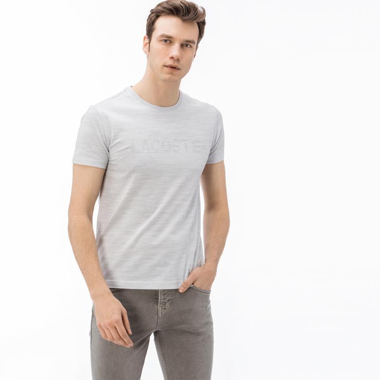 Lacoste Erkek Açık Gri T-Shirt