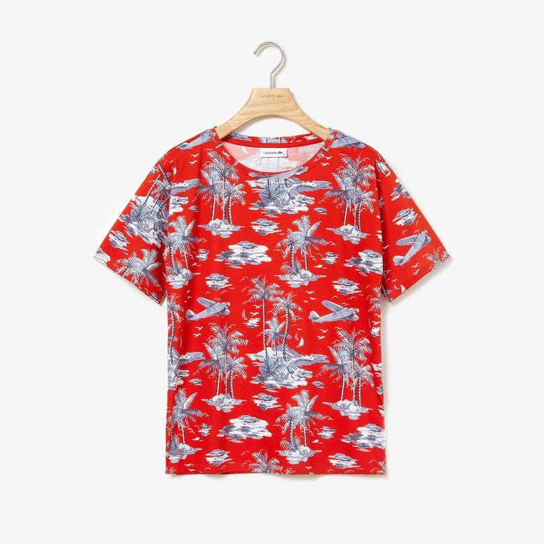 Lacoste Riviera Kadın Kırmızı T-Shirt