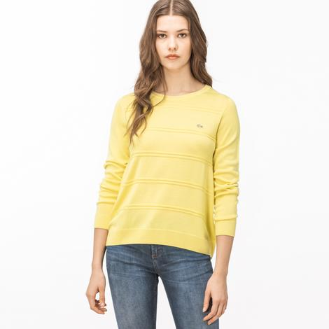 Lacoste Kadın Sarı Triko