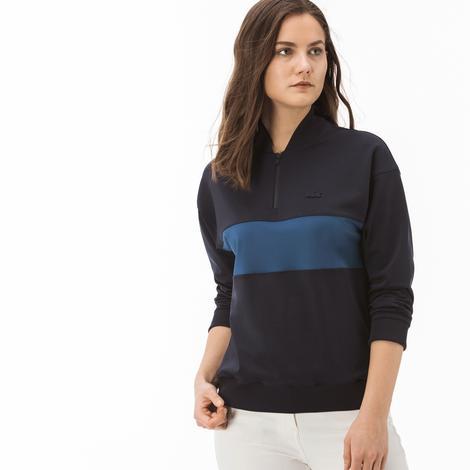 Lacoste Motion Kadın Lacivert Sweatshirt