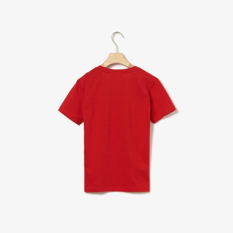 Lacoste Çocuk Kırmızı T-Shirt