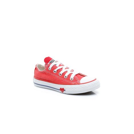 Converse Chuck Taylor All Star Denim Love Çocuk Turuncu Sneaker
