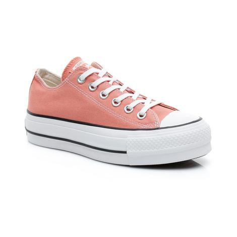 Converse Chuck Taylor All Star Seasonal Color High Lift Kadın Turuncu Sneaker