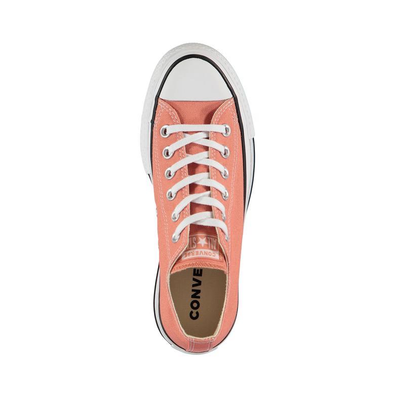 Converse Chuck Taylor All Star Seasonal Color High Lift Kadın Turuncu Sneaker