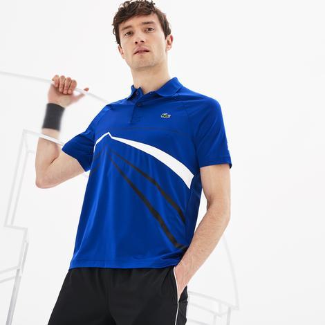 Lacoste Novak Djokovic Erkek Mavi Polo