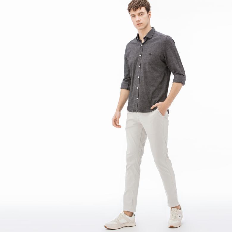 Lacoste Erkek Slim Fit Bej Pantolon