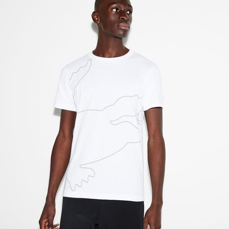 Lacoste Sport Erkek Beyaz T-Shirt