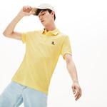 Lacoste Riviera Erkek Regular Fit Sarı Kısa Kollu Polo