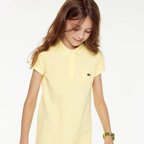 Lacoste Çocuk Sarı Elbise