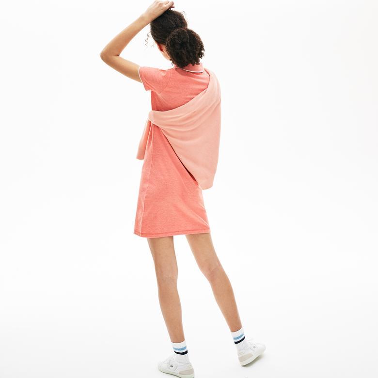 Lacoste Kadın Turuncu Elbise