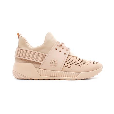 Timberland Kiri Up Microfiber Oxford Kadın Bej Sneaker