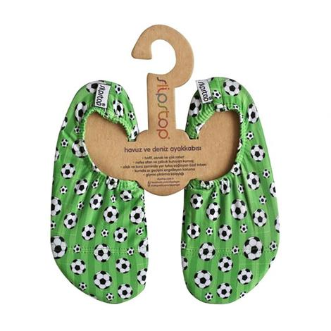 Slipstop Football Yeşil Çocuk Havuz Ayakkabısı
